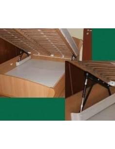Plynové postelové kovanie - Francúský posteľ