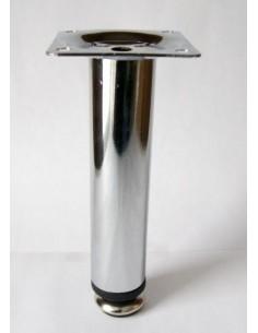 3006. kovová náb. noha, chróm, 150 mm