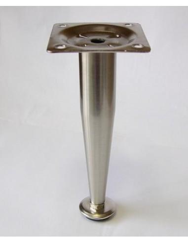 3014. kovová náb.noha nikkel