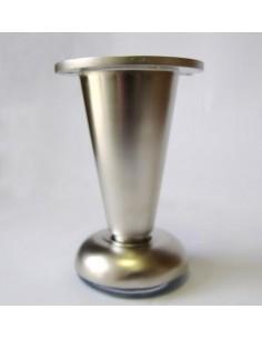 3019. kovová nábyt.noha šampaň 100mm