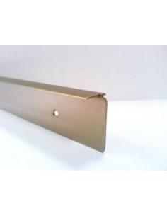 Rohová lišta k pracovnej doske 28mm BRONZ